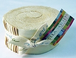 Bella Solids Jelly Roll - Light Neutrals