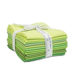 The Colors of Moda Bella Solids Fat Quarter Bundle - Greens