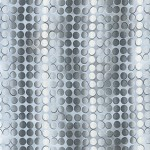 Fusions Full Circle Blenders - Vertical Stripe-Dots - Silver