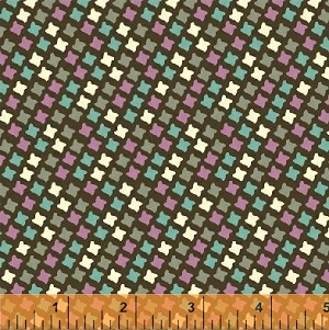 Chelsea - Houndstooth - Brown