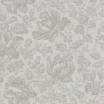 Whitewashed Cottage -  Floral Damask - Pebble