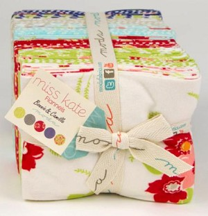Miss Kate FLANNEL Fat Quarter Bundle - 20 pieces