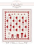 "I Believe in Snowmen Block of the Month Quilt Pattern - 56"" x 64"" + FREE SHIPPING"