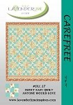 "Carefree Quilt Pattern - 73"" x 79"""