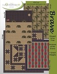 Brave Quilt Pattern - Includes 4 designs!