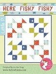 Here Fishy Fishy Quilt Pattern - 38 1/2