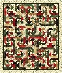 "Jingle Pops 2 - FREE Mfg. Quilt Pattern - 58"" x 68"""