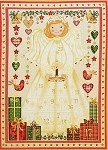 Angel Advent Calendar - Cream with Gold Metallic - 23