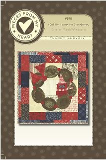 Christmas Quilt.Owl Be Home For Christmas Quilt Pattern Wall Hanging 19 X 19 Charm Pack Friendly