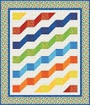 Rainbow River Quilt Pattern - 3 Sizes