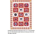 "Rudolph 50 Years Quilt Kit - 56"" x 76"""