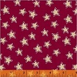 Craft Paper Christmas Stars - Red
