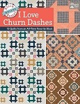 I Love Churn Dashes Soft Cover Book