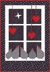 Christmas Window Quilt Pattern - 34'' x 48''