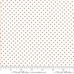 Essential Dots - Red Dots on White