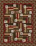 NEW!!  Evergreen Quilt Kit - 63'' x 79''