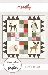 Merrily Wall Hanging Quilt Pattern - 27.5'' x 33'' - Charm Pack Friendly