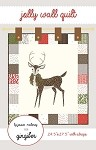 Jolly Wall Quilt Pattern - 22'' x 28.5'' (with straps) - Charm Pack Friendly