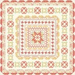 Medallion Quilt Kit - 66'' x 66''