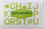 Moda Spell it with Fabric Quilt Pattern Booklet - FREE w/purchase of regular price Moda Jelly Roll