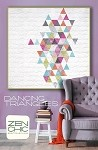 Dancing Triangles Quilt Pattern - 57'' x 57'' - Charm Pack Friendly