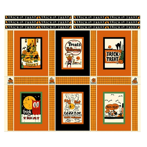 Trick or Treat Parade Quilt Kit  -  36 3/4