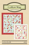Snickerdoodle Quilt Pattern - 2 Styles, 2 Sizes! - Charm Pack Friendly