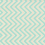 Wrens & Friends - Skinny Chevron - Aqua