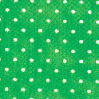 Amelia Dots - Bright Green