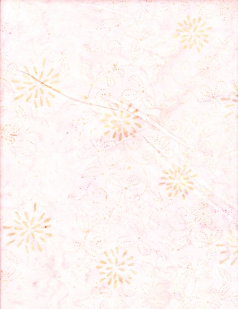 Anthology - Hand Made Batiks - Pale Pink Print