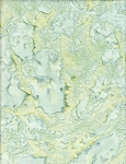 Anthology Hand Made Batiks Solids - Pale Green/Yellow