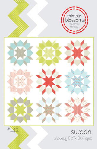 Swoon Quilt Pattern - 80