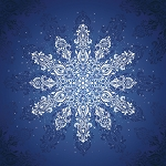 Gradients Holiday Digitally Printed Panel - Ice - 57'' x 57''