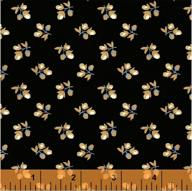 Crazy for Shelburne - Flower Buds - Black
