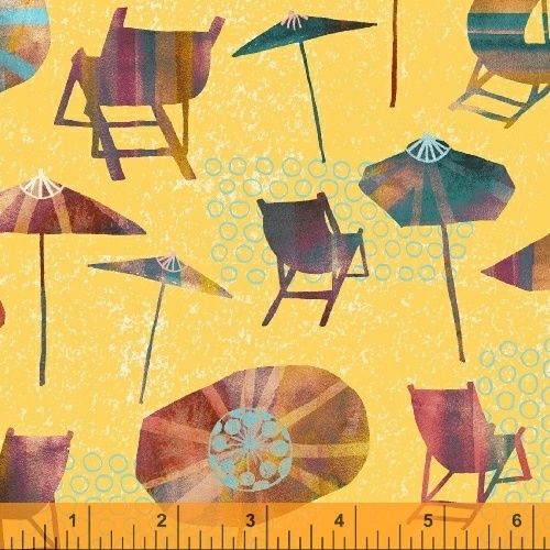 Sunnyside - Beach Chairs & Umbrellas  - Yellow