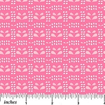 Pinfeathers - Bright Pink - Print