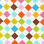 Remix - Argyle Print - Multi
