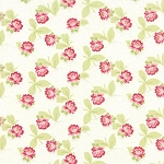 Ambleside Small Flower - Linen White