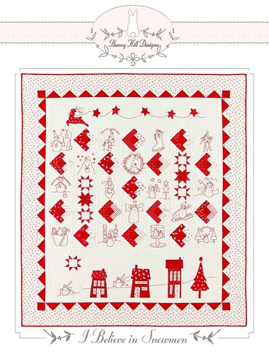 I Believe in Snowmen Quilt Pattern - 56