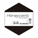Honeycomb Hexagons - Black