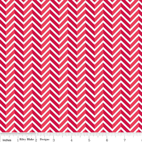 Star Spangled Chevron - Red
