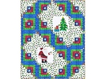 Log Cabin Christmas - FREE Mfg. Quilt Pattern - 72