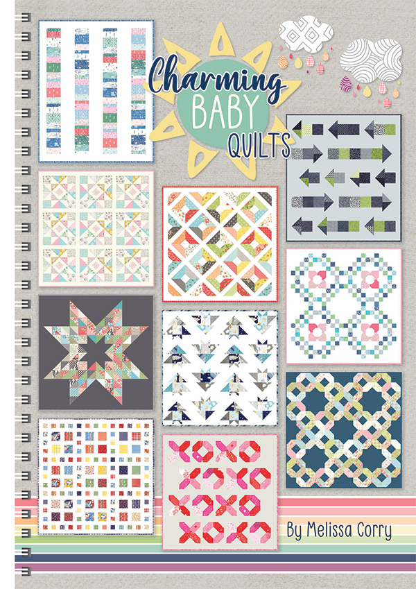 Charming Baby Book Quilt Patterns Spiral Bound Ise 937