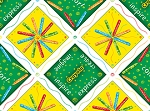 Crayola - Ready, Set, Color! - Crayola Patchwork - Green/Yellow