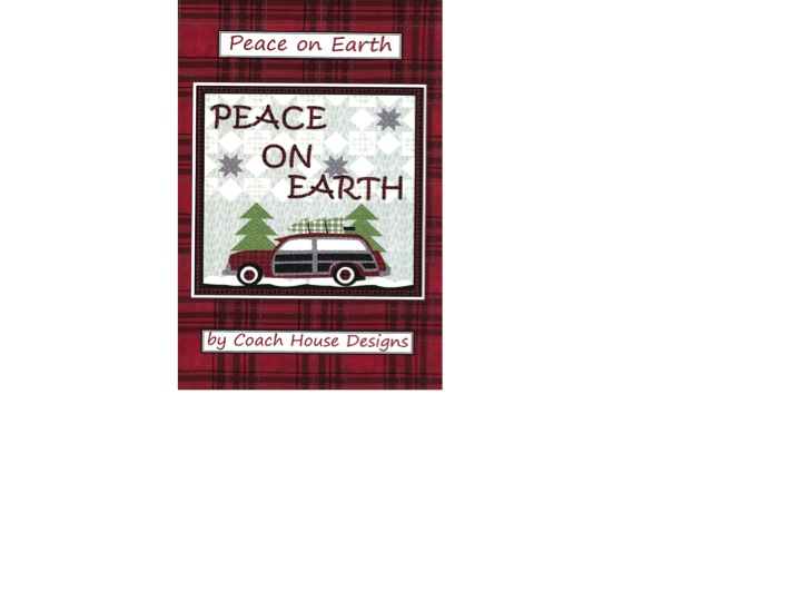 Peace on Earth Quilt Pattern - 51'' x 51''