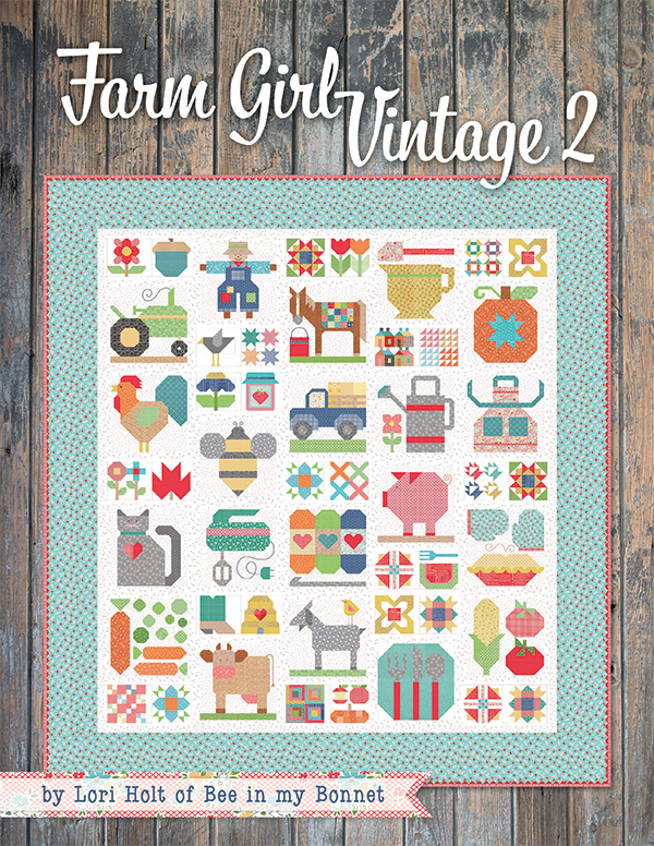 Farm Girl Vintage 2 Soft Cover Quilt Book