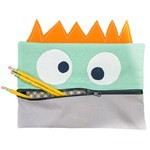 Lil' Monster Pencil Case - FREE Mfg. Quilt Pattern - 10 1/2'' x 7 1/2''