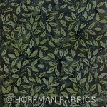Seasonal Hand-Painted Bali Batiks - Hunter - Holly