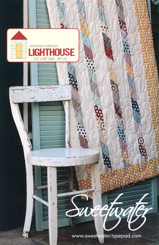 Lighthouse Quilt Pattern - 62