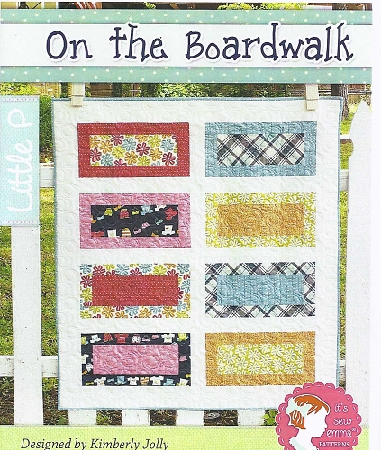 On The Boardwalk Quilt Pattern - 36 1/2